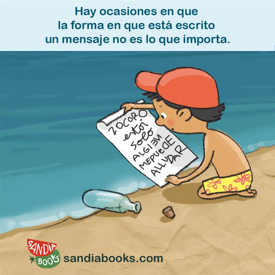 Hay ocasiones en que la forma en que está escrito un mensaje no es lo que importa.